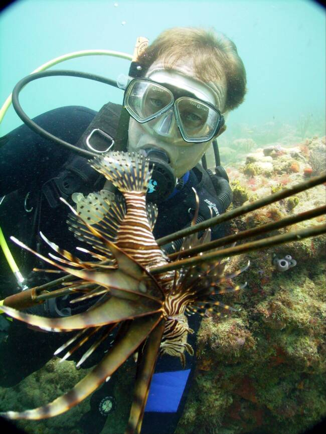 Lionfish Kill Shot